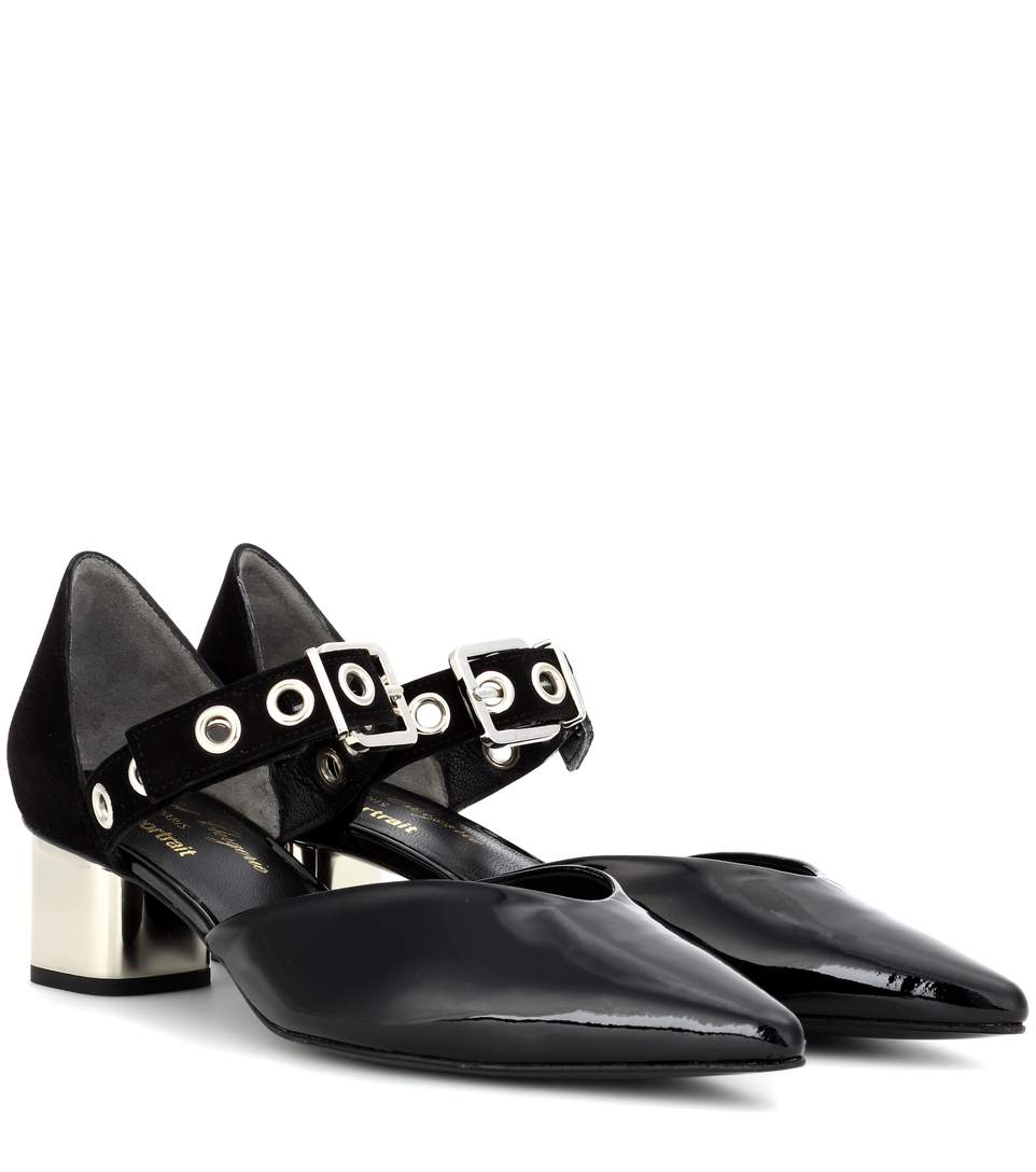 Robert Clergerie Patent Leather Mary Jane Pumps really cheap online fFXoto