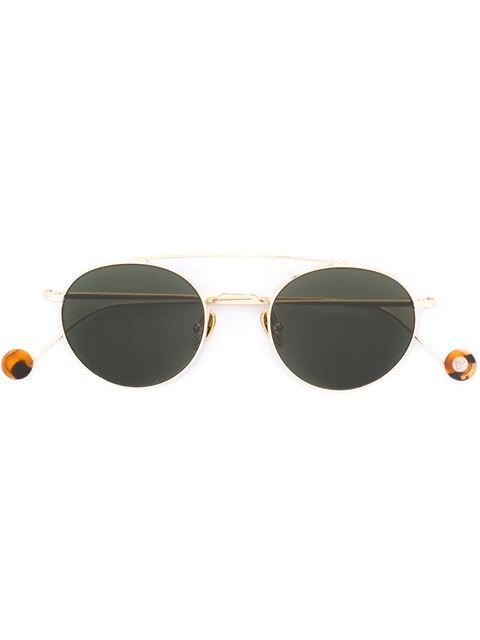 AHLEM Ahlem Aviator Style Sunglasses - Metallic