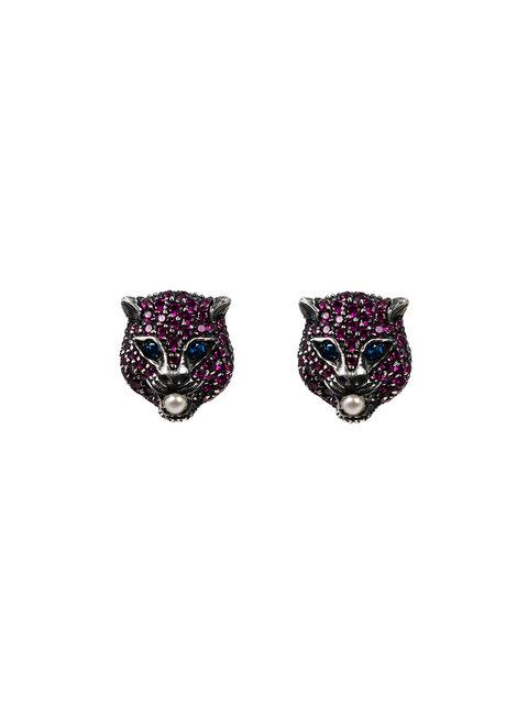 GUCCI 'Le Marché Des Merveilles' Earrings in Pink