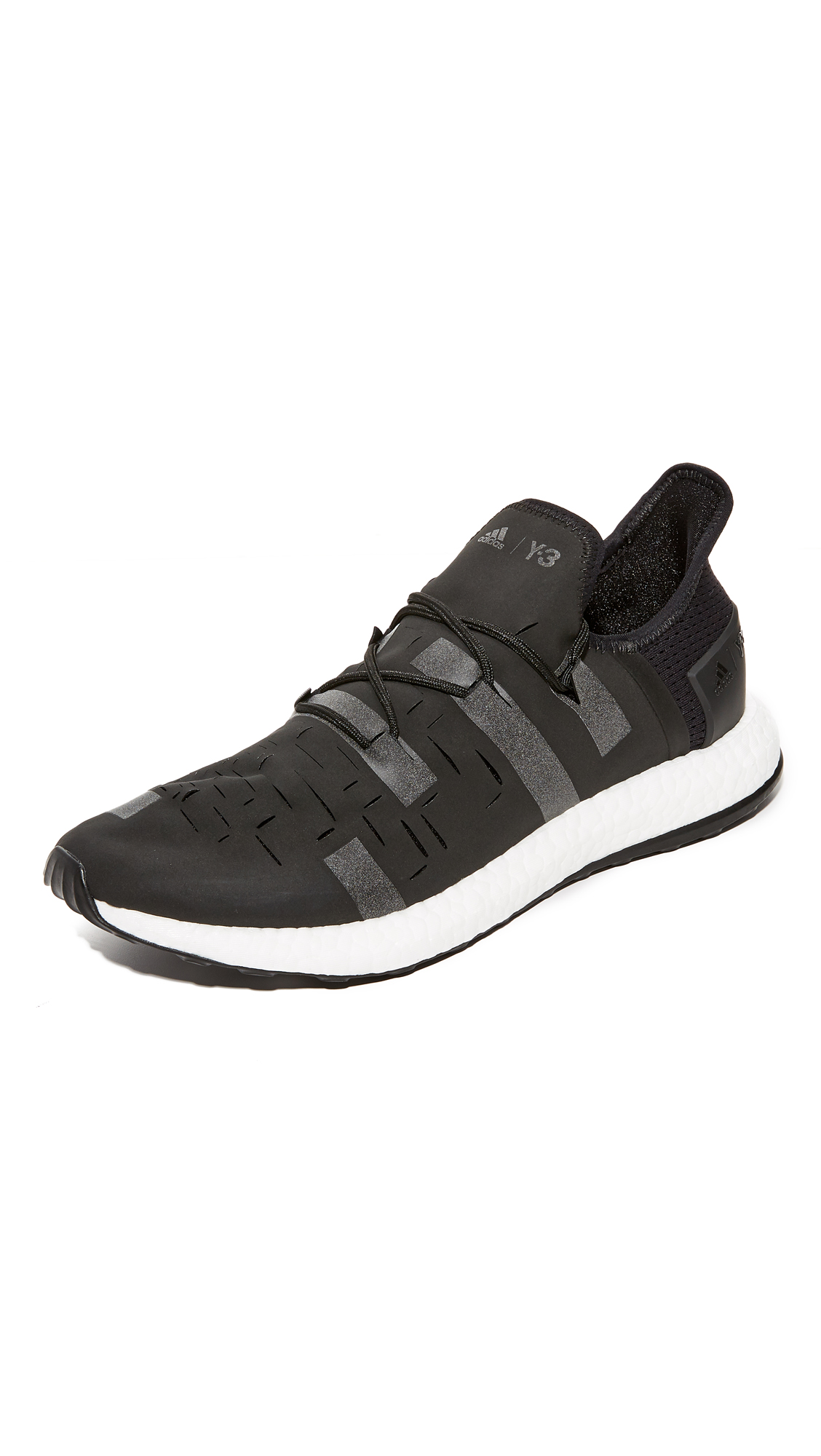 Y-3 Black Approach Low Sneakers