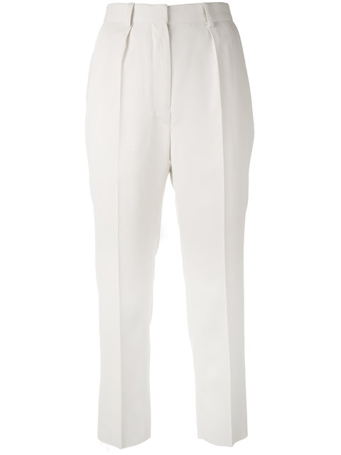Sale Best cropped slim trousers - White Iro 2018 Newest Outlet Low Price NKeJNmOL