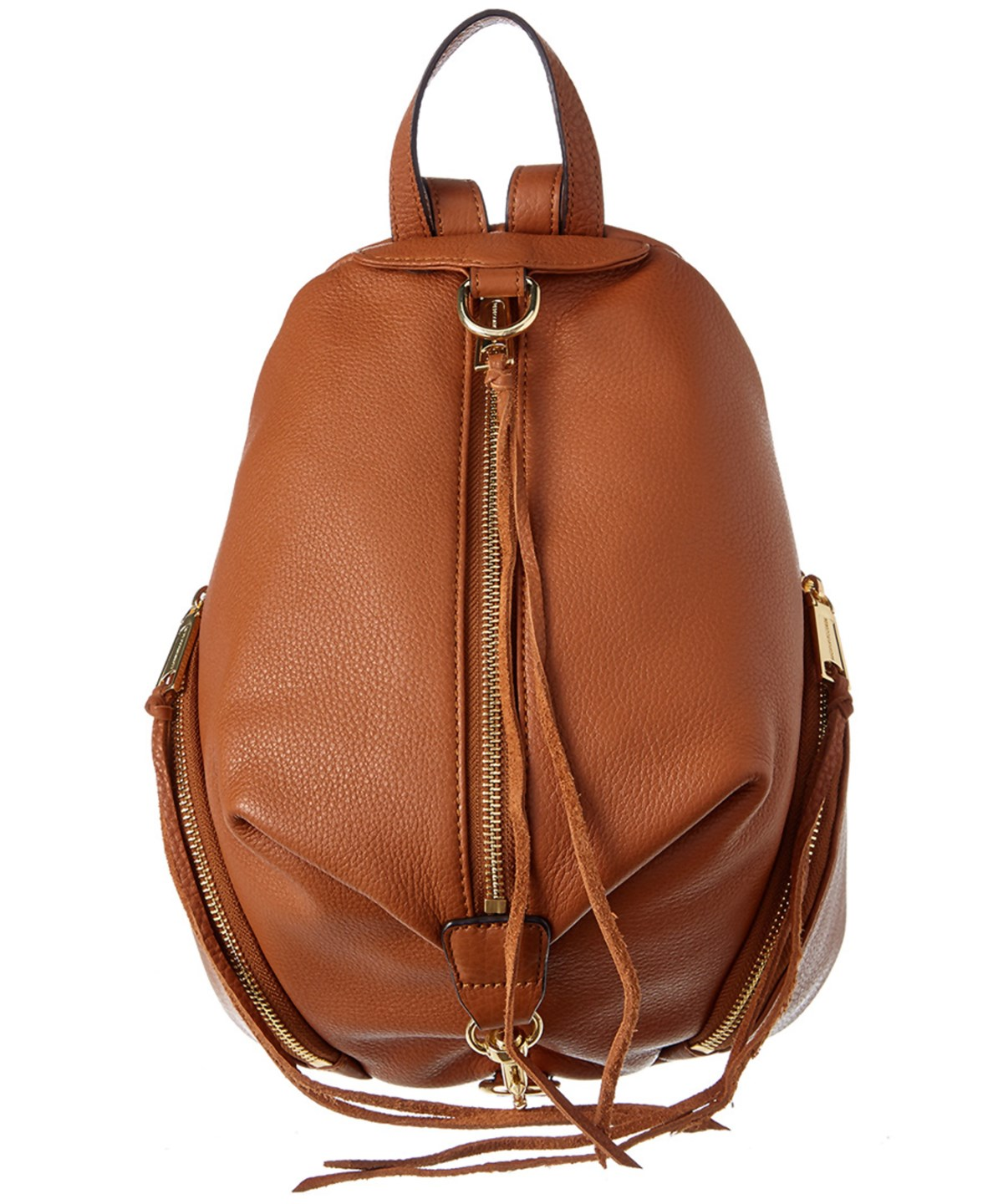 REBECCA MINKOFF Julian Medium Leather Backpack' in Tan