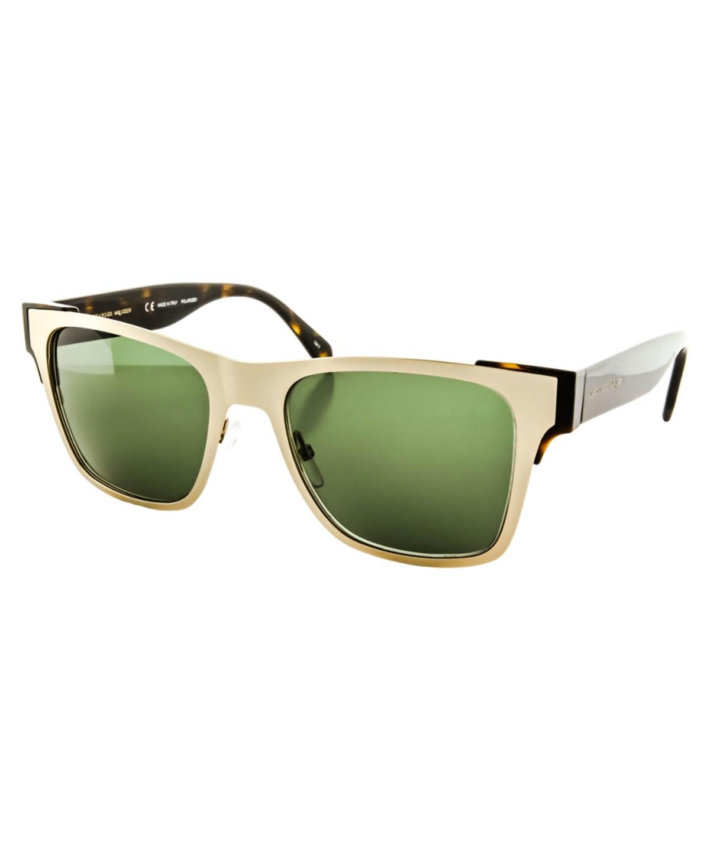 ALEXANDER MCQUEEN Unisex Am0011S Sunglasses' in Gold