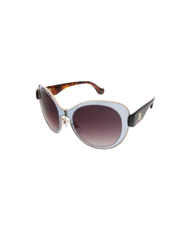 BALENCIAGA Ba0002S 20T Grey/Havana Round Sunglasses'