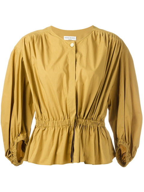 SONIA RYKIEL Ruched Blouse