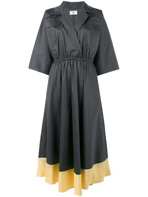 MARYAM NASSIR ZADEH Patch Pocket Dress