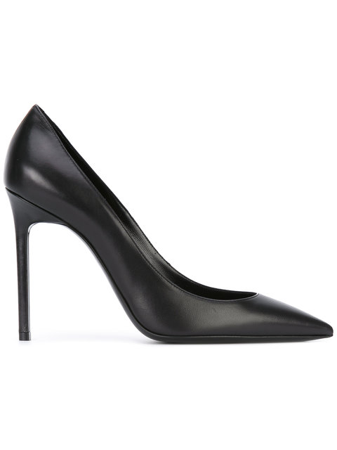 Anja 105 D'Orsay Pump In Black Patent Leather