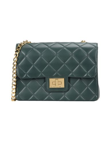 DESIGNINVERSO Cross-Body Bags in Dark Green