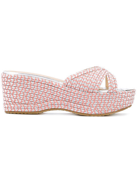 Prima Sandals, Pink & Purple