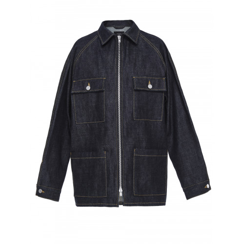 Fifth Collection Selvedge Denim Jacket, Blue
