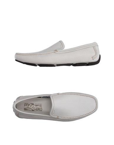 Blanc Salvatore Ferragamo Chaussures Pour Hommes FNK2uX