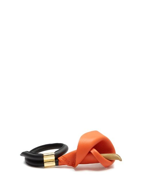 Calla Or Ton, Cuir Et Daim Bracelet - Loewe D'orange