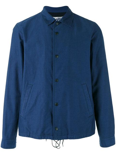 GANRYU Ganryu Comme Des Garcons Button-Up Jacket - Blue