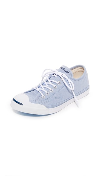 3bc3c2691d0d Converse Women S Jack Purcell Low Profile Lace Up Sneakers In  Granite White Navy