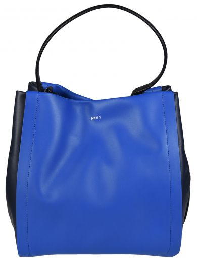 DKNY Contrast Tote in Blu