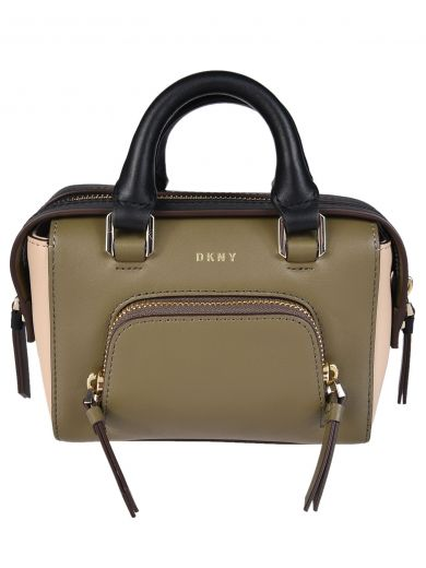 DKNY Contrast Tote Bag in Multicolor