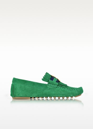 Tory Burch Gemini Link Driver Loafers Newest Sale Online Shop Cheap Online RgYI2tv5Z