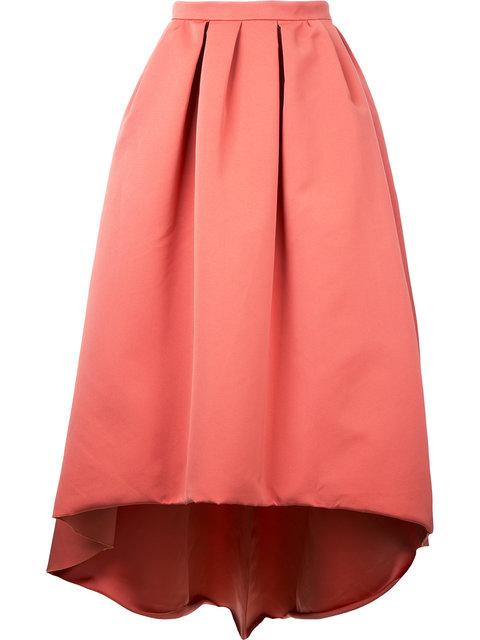 PAULE KA Paule Ka Asymmetric Full Skirt - Pink