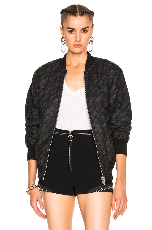 Adidas Originals por Alexander Wang reversible Fleece y jacquard