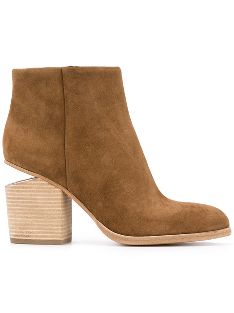 Woman Gabi Suede Ankle Boots Light Brown in Neutrals