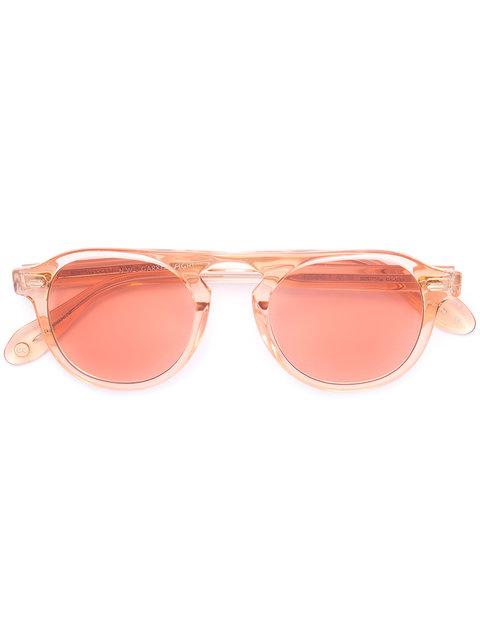 Garrett Leight Garrett Leight X Nick Wooster Sunglasses - Yellow, Yellow & Orange