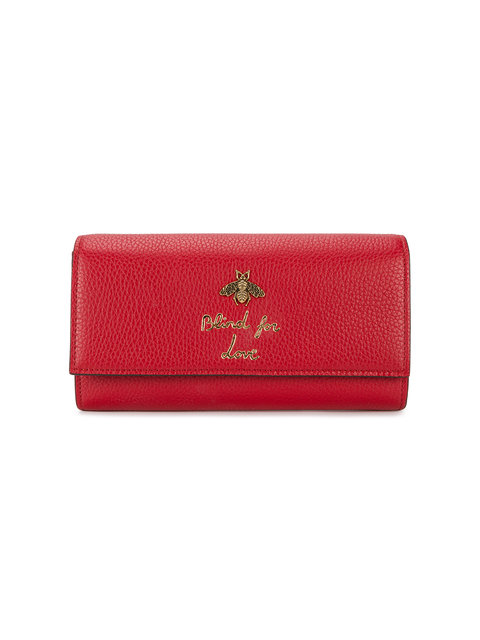 Gucci Blind For Love Wallet - White