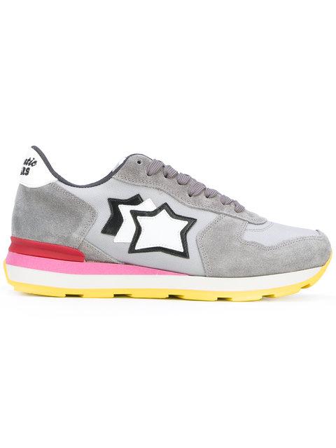 ATLANTIC STARS Star Patch Sneakers in Grey