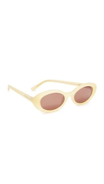 Mckinley Sunglasses, Sunshine Horn/Brown Mono