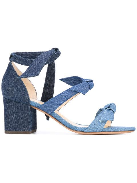 Alexandre Birman Mary Denim Sandals