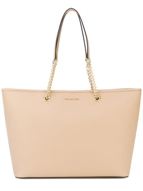 Mercer Chain Link Tote in Neutrals