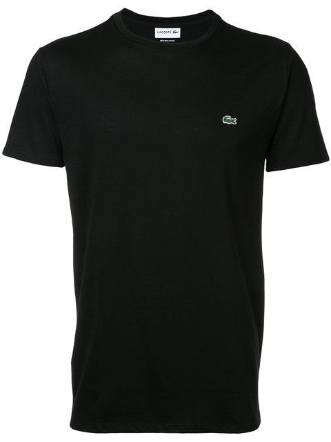 LACOSTE Men'S Sport Crew Neck Tennis T-Shirt in Black
