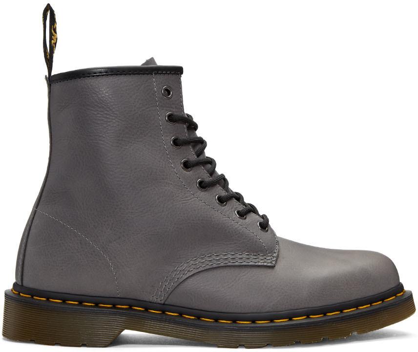 Dr. Martens1460 - Lace-up boots - grey NzEywEhxcI