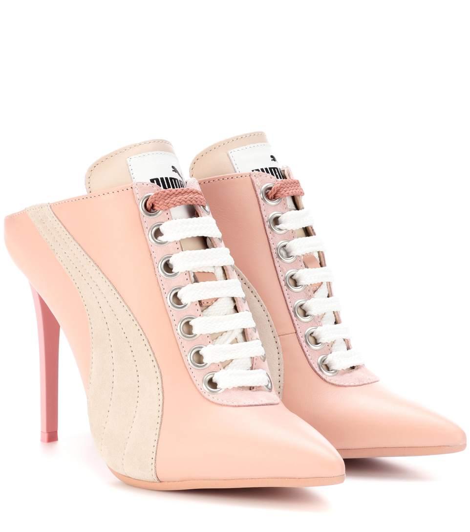 Fenty Puma X Rihanna Women'S High Heel Mules in Pink