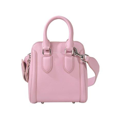 ALEXANDER MCQUEEN Heroine Small Bag in Heather|Rosa