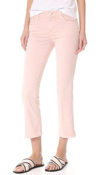 J Brand Selena Mid Rise Crop Boot Jeans in Vinca VeynDw5AJZ