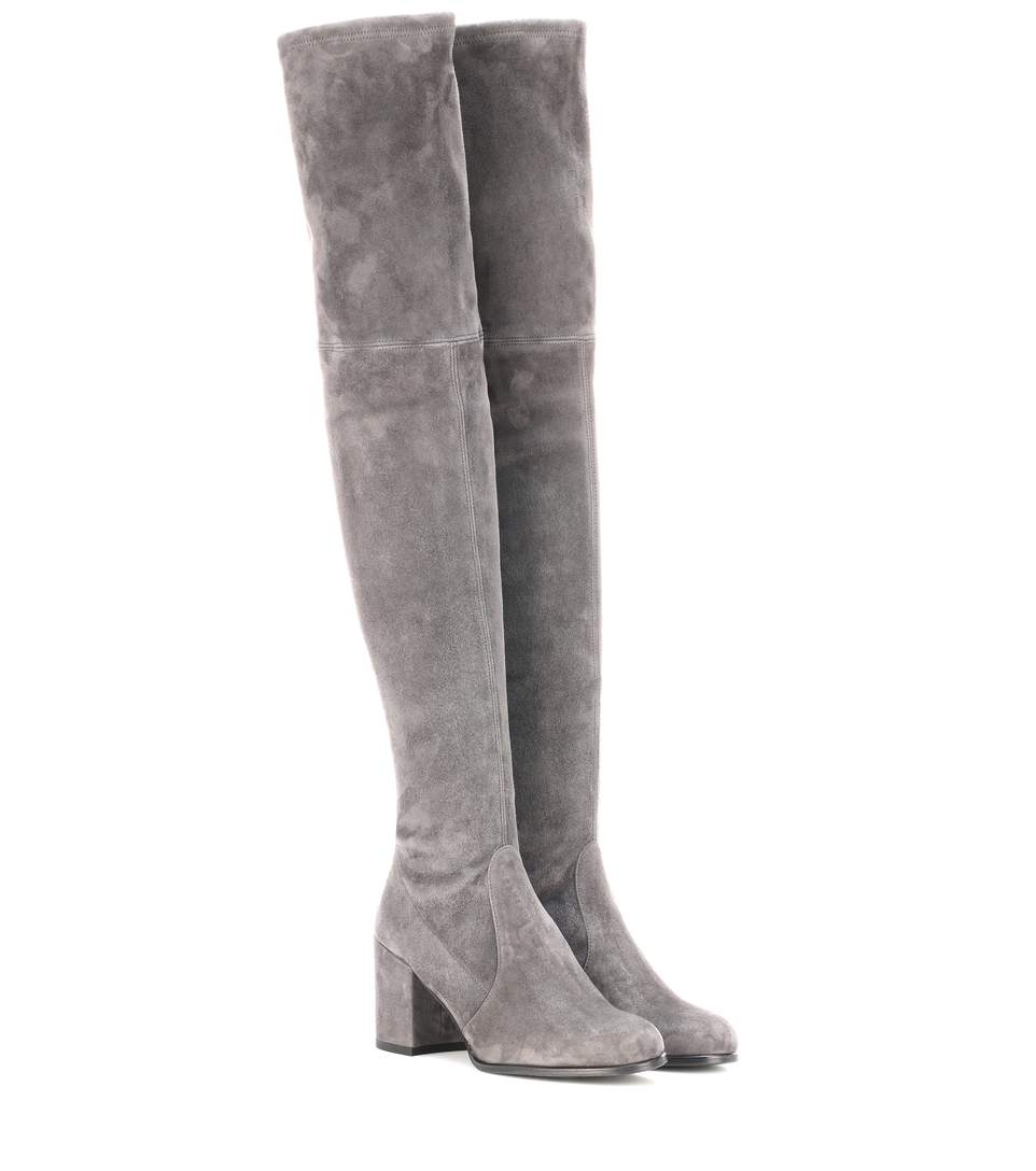 The Tieland Boots in Grey