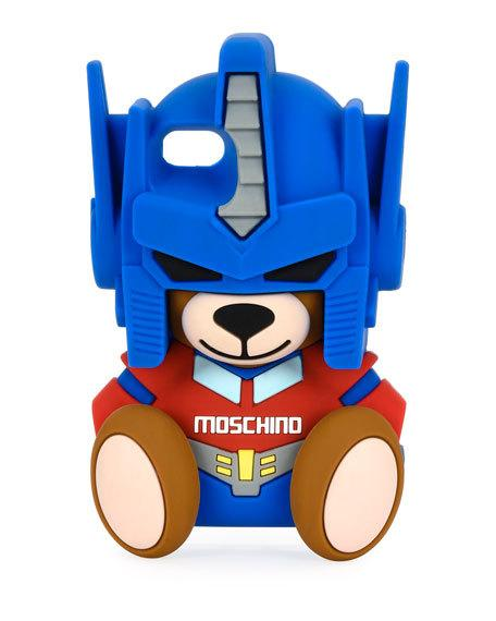 Teddy Bear Transformers Iphone 7 Case, Blue