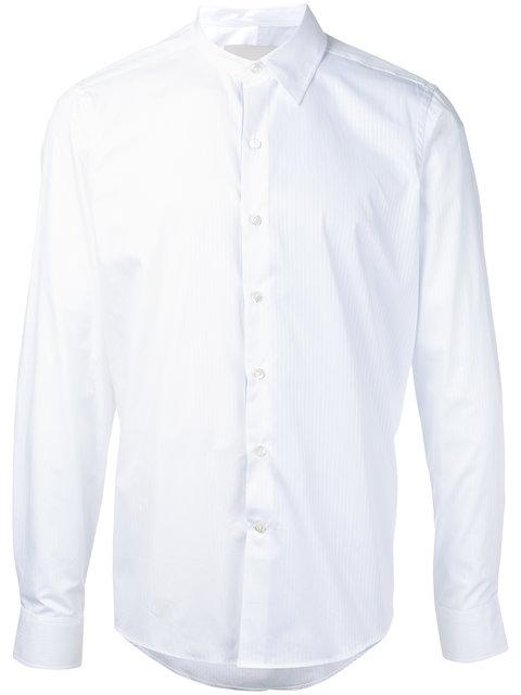 CASELY-HAYFORD Casely-Hayford Band Collar Shirt - White