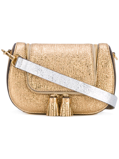 Mini Circulus Vere Satchel in Metallic