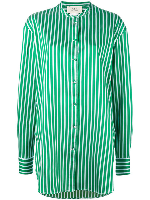 PORTS 1961 Long Striped Shirt