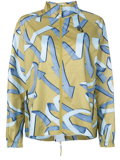 NIKE Ribbon Print Jacket
