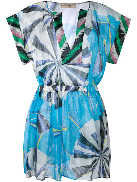 EMILIO PUCCI Graphic Print Dress