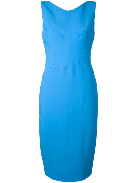 ANTONIO BERARDI Zip Back Midi Dress