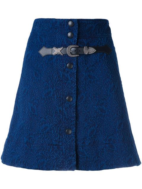 SONIA RYKIEL Buttoned A-Line Skirt