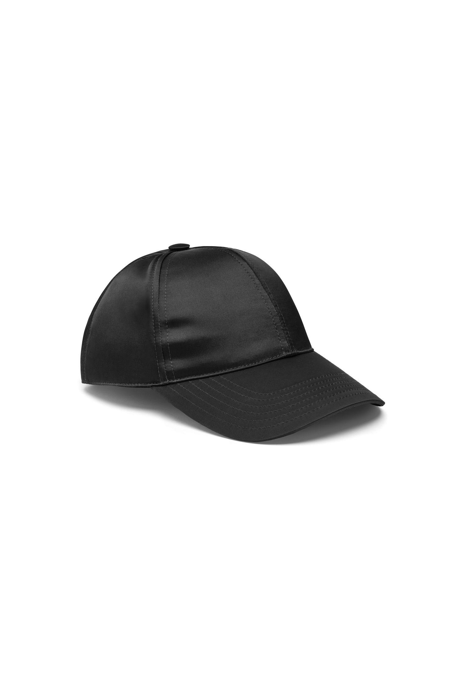 a9161fc9917 Acne Studios Camp Matt Face-AppliquÉ Cap In Black