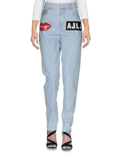 AU JOUR LE JOUR Denim Pants in Blue