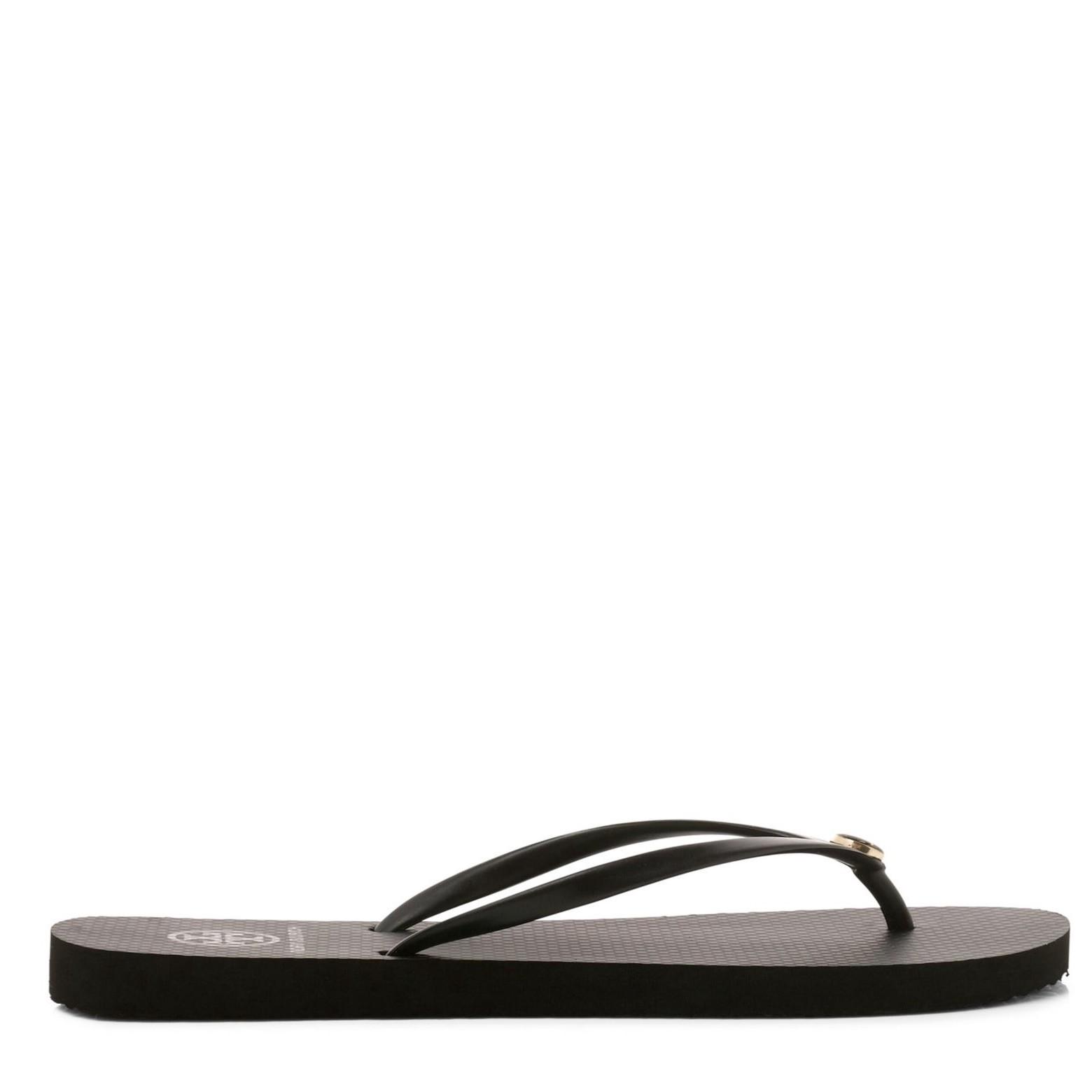 TORY BURCH Thin Flip Flop (Women) in Avalon/ Avalon/ Black