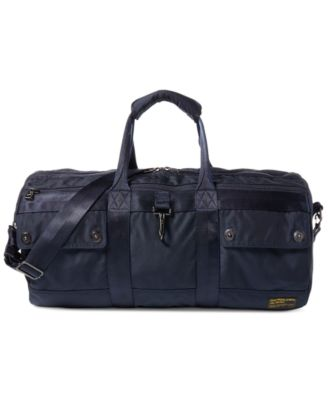 beff7abd7a41 POLO RALPH LAUREN COMMUTER LEATHER BRIEFCASE - BLACK