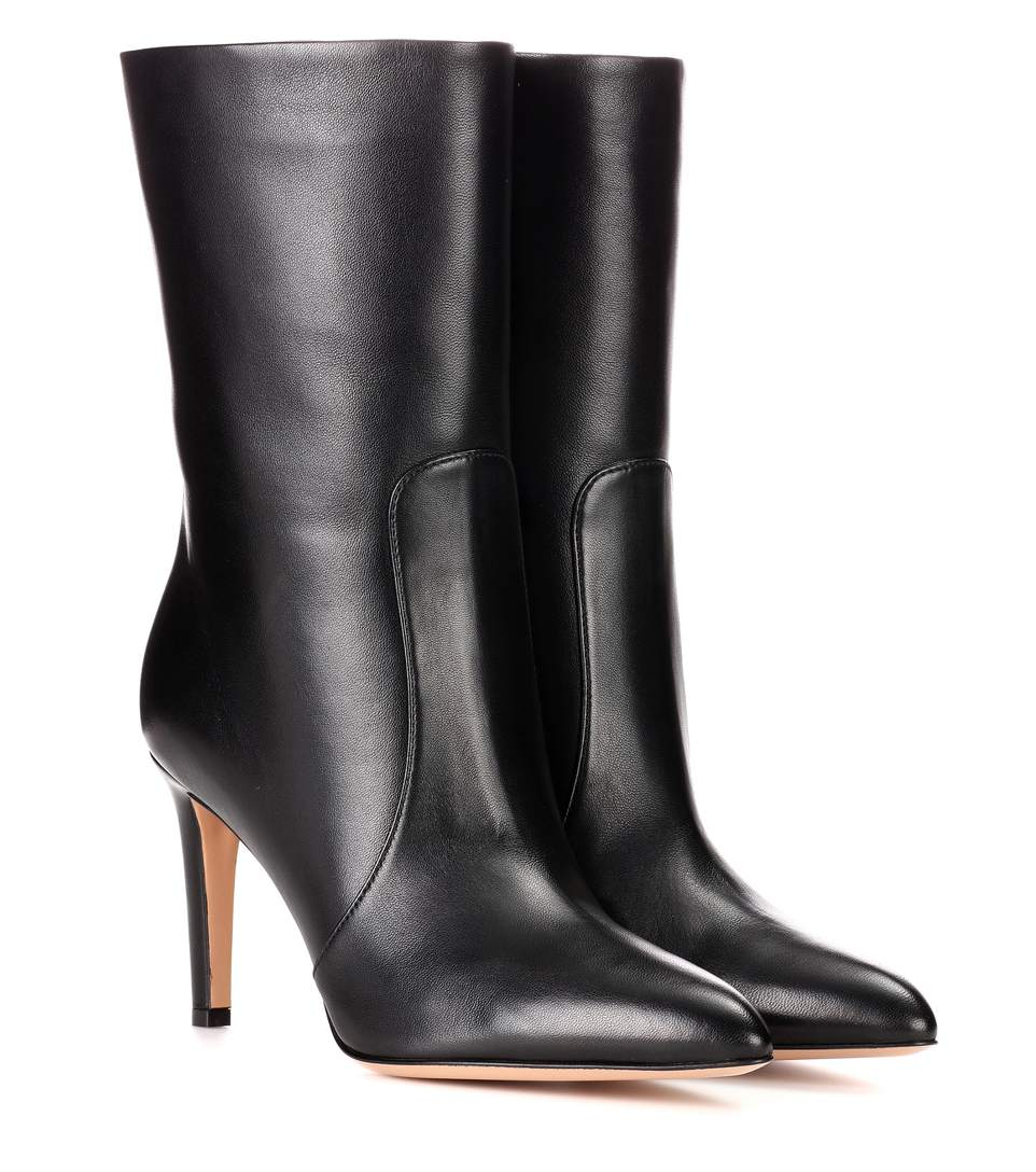 Exclusive To Mytheresa.Com - Dana Leather Ankle Boots, Black