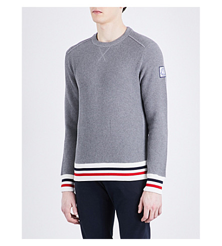 moncler grey jumper